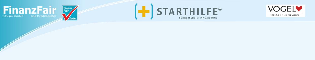 FinanzFair - Starthilfe Führerscheinfinanzierung